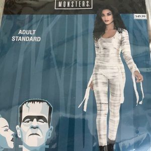 Monsters: Mummy Catsuit Adult Costume! New!